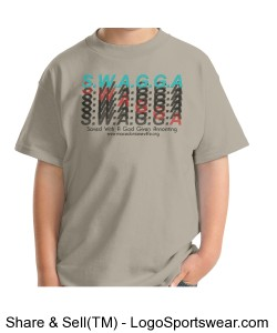 Hanes Youth Short Sleeve Beefy-T Design Zoom
