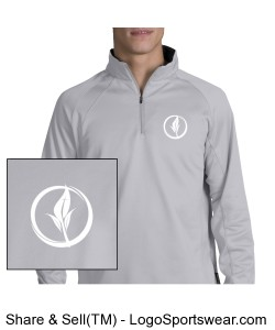 Sport-Tek - Adult 1/4 Zip Sport-Wick® Fleece Design Zoom